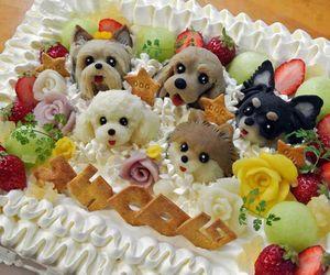 cake, dog, and cute image