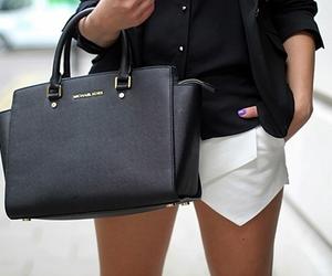 fashion, black, and Michael Kors image