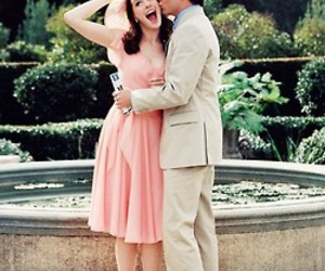 Anne Hathaway, chris pine, and kiss image