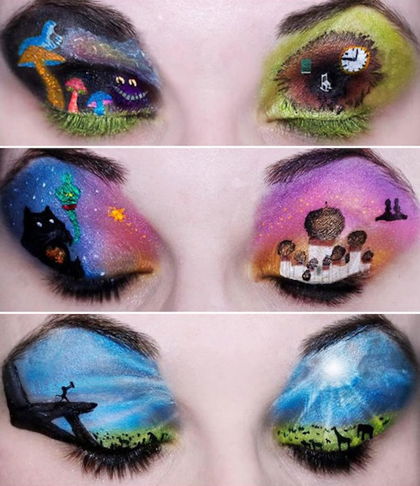 Makeup Monday Eye Art Discovered By Yamin On We Heart It