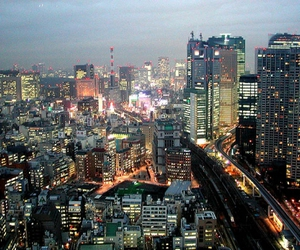 architecture, japan, and infrastructure image