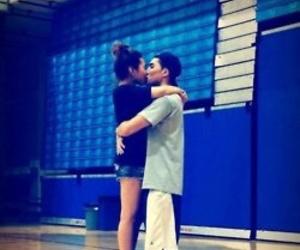 love, Basketball, and kiss image