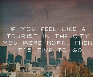 quote, text, and city image