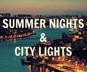 summer, city, and night image