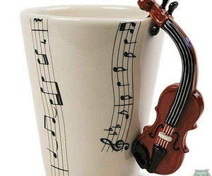 music and cup image