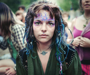 hippie and dreads image