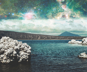 sea, sky, and stars image