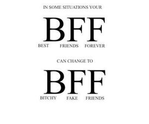 bff, friends, and fake image