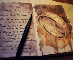 LOTR and the one ring image