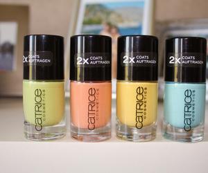 nails, catrice, and nail polish image
