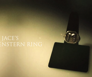 the mortal instruments, morgenstern ring, and jace's ring image