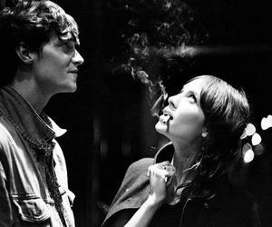 alexa chung, cigarette, and matt hitt image