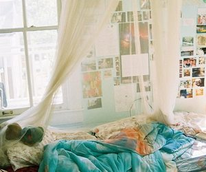 bedroom, photos, and colorful image