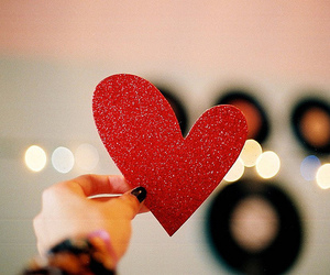 heart and red image