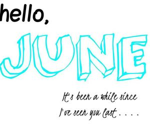beach, hello, and june image