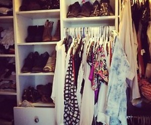 beautiful, closet, and fashion image
