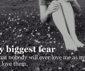 fear and text image