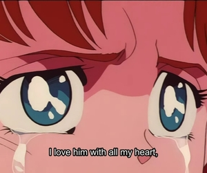 quotes, sad, and sailor moon image