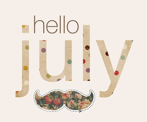 july, hello, and summer image