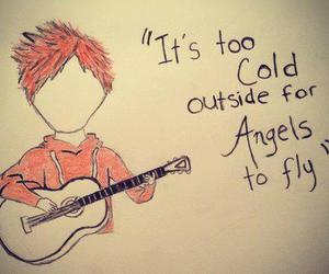 ed sheeran, angel, and the a team image
