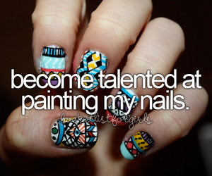nails, girl, and talented image