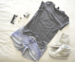 fashion, gym, and outfit image