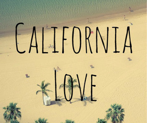 california, love, and beach image