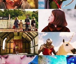 Lucy, narnia, and peter image