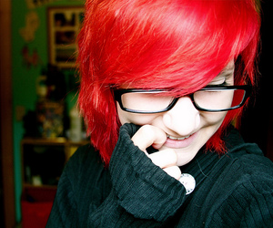 hair, red, and allylullaby image