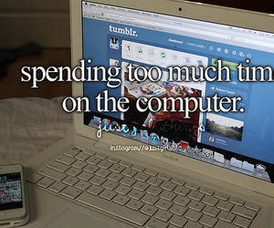 computer, quote, and tumblr image