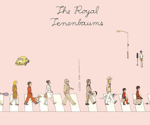 illustration, movie, and royal tenenbaums image