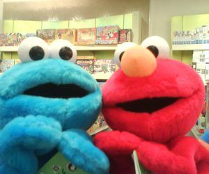 best friends, blue, and red image