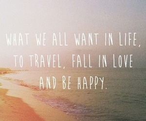 love, travel, and life image