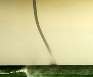 ocean, storm, and twister image