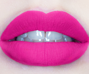lips, pink, and red image