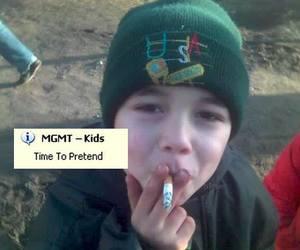 kids, MGMT, and smoke image