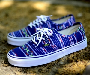 vans and blue image