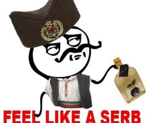 country, funny, and serbian image
