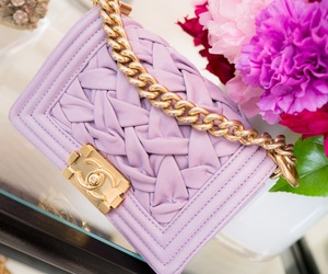 chanel, fashion, and purple image