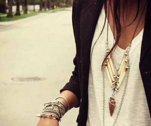 fashion, style, and necklace image