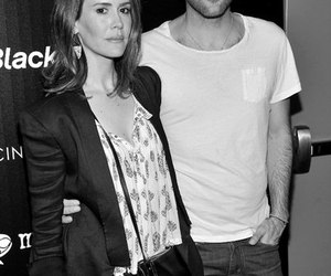 asylum, black and white, and zachary quinto image
