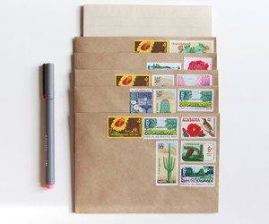 envelope, letters, and pen image
