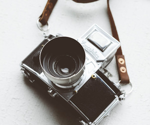 camera, small, and vintage image