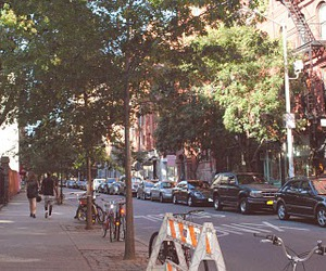 avenue, new york, and road image