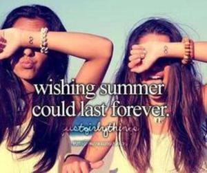 summer, forever, and friends image