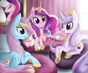 cadence, my little pony, and princess image