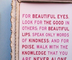 quote, audrey hepburn, and eyes image