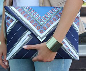 bag, fashion, and clutch image