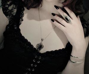 black, dark, and pale image