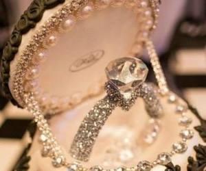 beautiful, diamond, and girl image